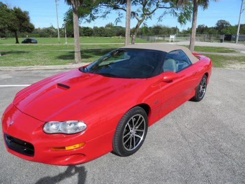 low miles 2002 Chevrolet Camaro SS CONVERTIBLE for sale