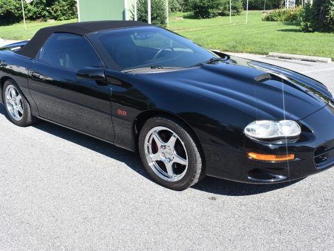 pristine 2002 Chevrolet Camaro SS Convertible for sale
