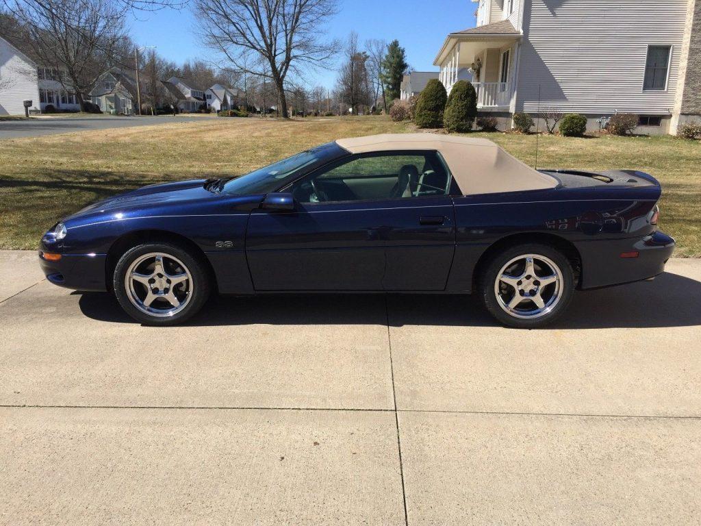 rare limited 2001 Chevrolet Camaro SS Convertible