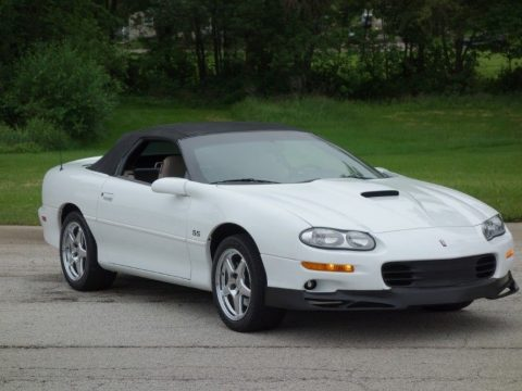 very low miles 2000 Chevrolet Camaro SS Convertible for sale