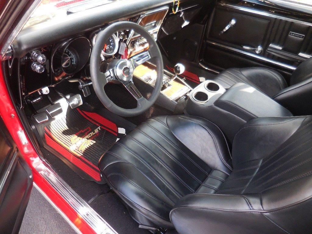 newly built 1967 Chevrolet Camaro SS