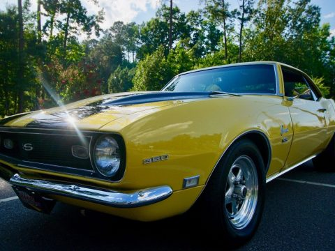 nicely renewed 1968 Chevrolet Camaro Coupe for sale