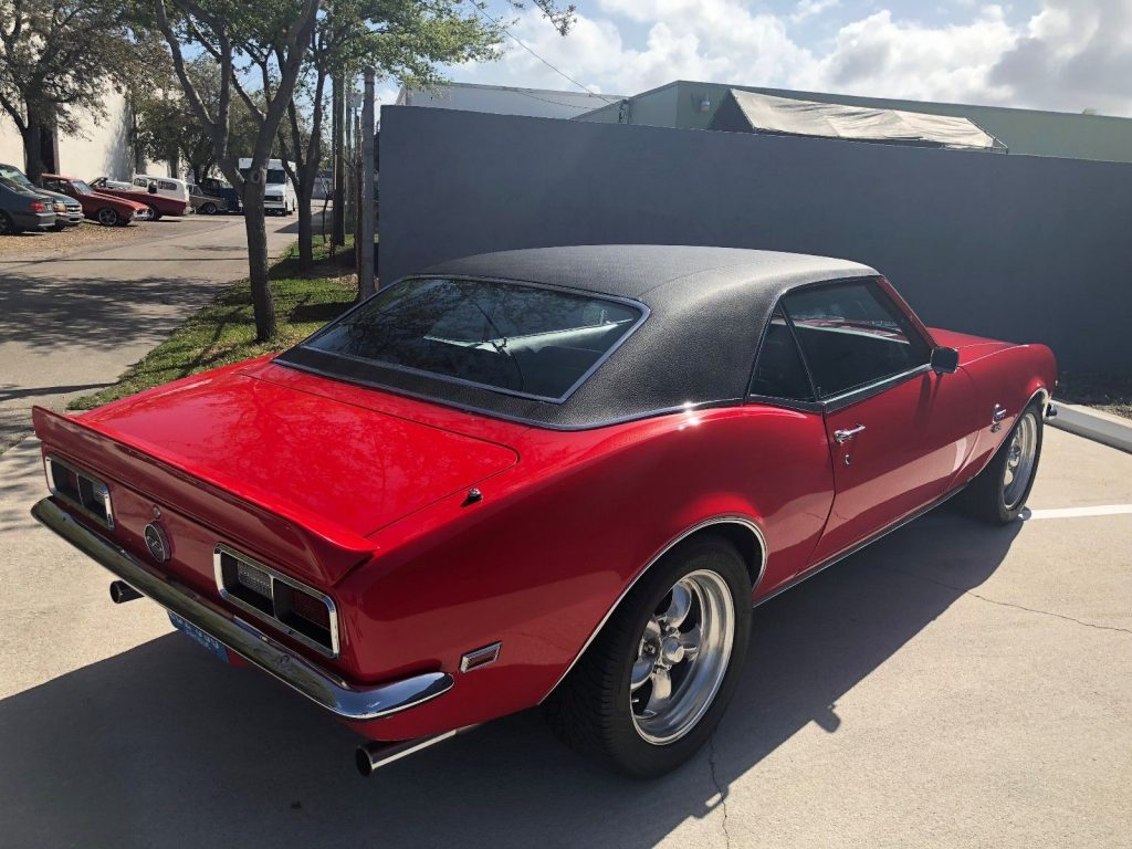restored 1968 Chevrolet Camaro custom