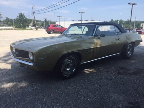 1969 Chevrolet Camaro Resto Mod For Sale
