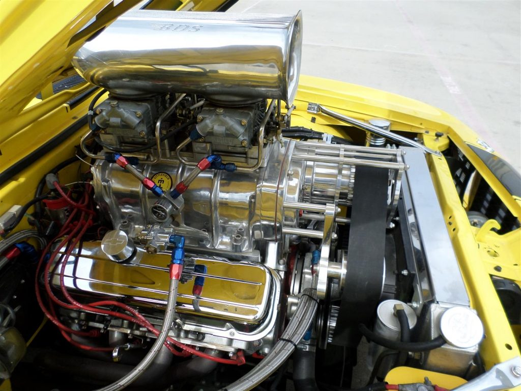 badass 1969 Chevrolet Camaro Rs/ss Pro Tour