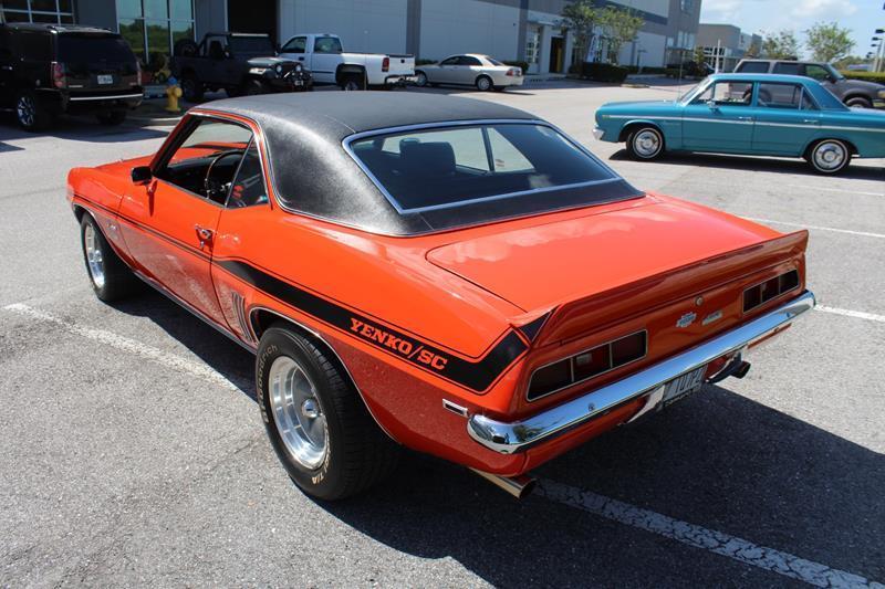 fully restored 1969 Chevrolet Camaro Yenko SC