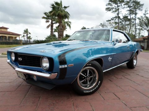 highly original 1969 Chevrolet Camaro 396SS for sale