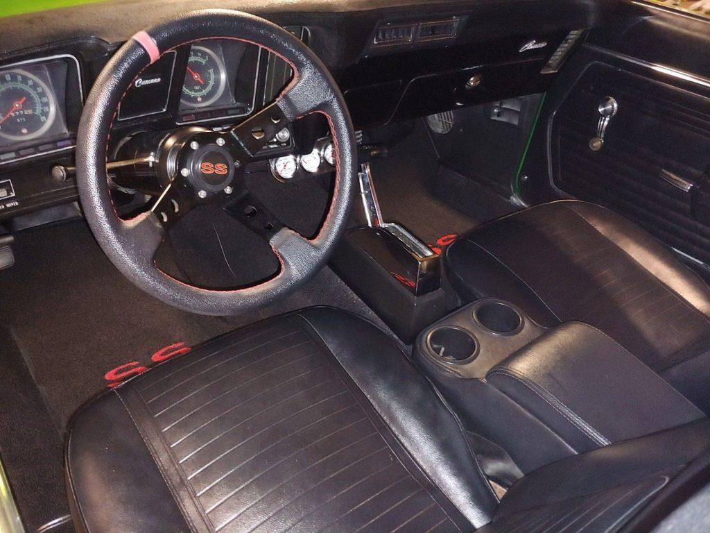 restored 1969 Chevrolet Camaro SS