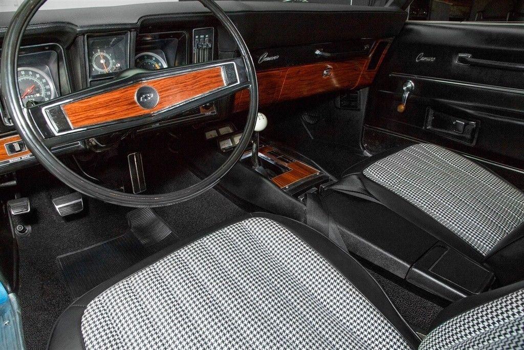 Rotisserie restored 1969 Chevrolet Camaro Z28