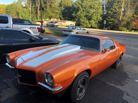 Corvette engine 1973 Chevrolet Camaro SS for sale