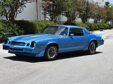 low miles 1980 Chevrolet Camaro for sale