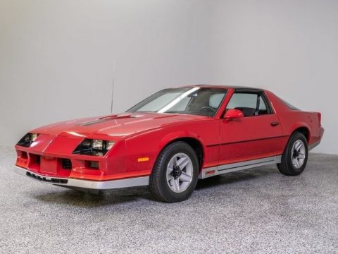 low miles 1984 Chevrolet Camaro for sale
