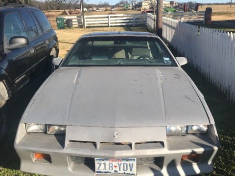 new engine 1984 Chevrolet Camaro F41 for sale