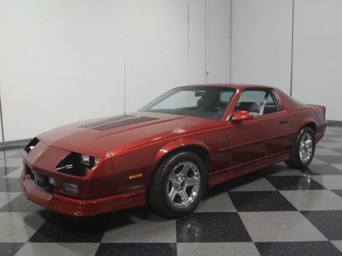 detailed 1989 Chevrolet Camaro IROC Z/28 for sale