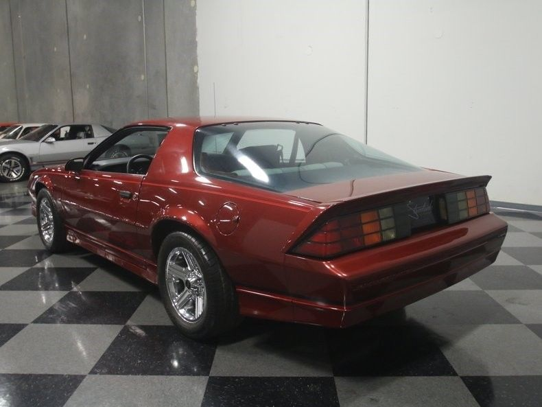 detailed 1989 Chevrolet Camaro IROC Z/28