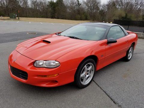 extreme low mileage 1999 Chevrolet Camaro SS SLP Hugger Orange for sale