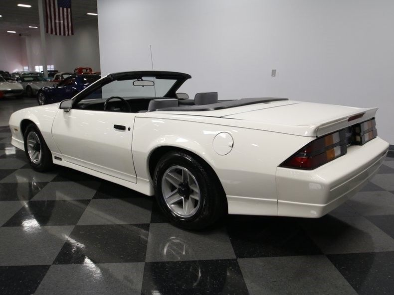 newly built engine 1989 Chevrolet Camaro RS Convertible
