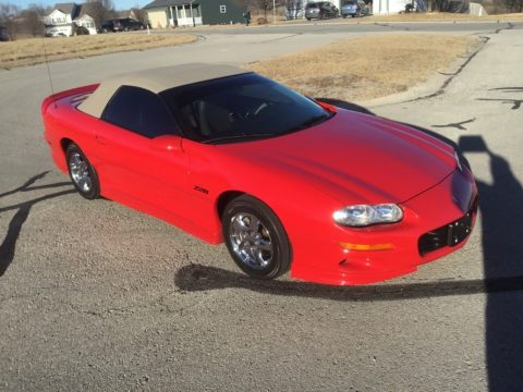 super clean 1998 Chevrolet Camaro Convertible for sale