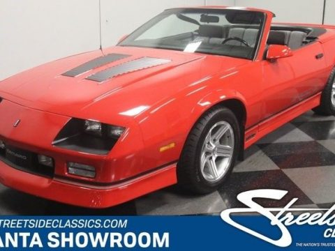 well maintained 1990 Chevrolet Camaro IROC Z/28 Convertible for sale