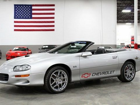 beautiful beast 2002 Chevrolet Camaro Z28 SS Convertible for sale
