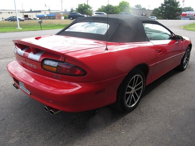 low mileage 2002 Chevrolet Camaro Z28 SS Convertible