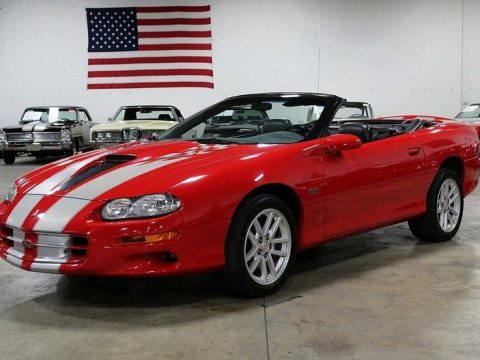 sharp 2002 Chevrolet Camaro Z28 SS Convertible for sale
