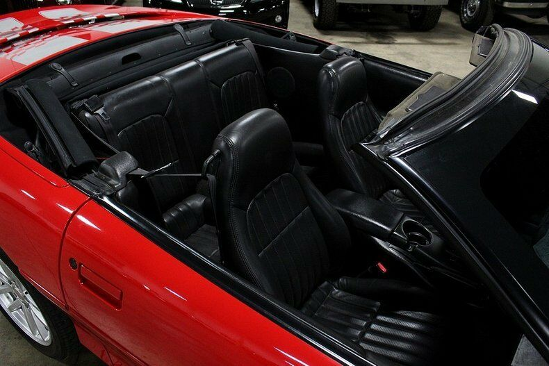 sharp 2002 Chevrolet Camaro Z28 SS Convertible