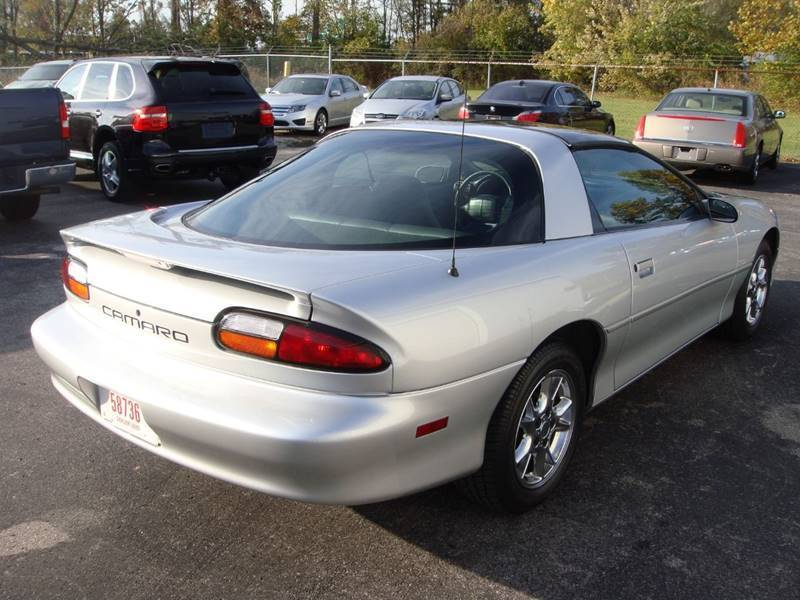 well serviced 2002 Chevrolet Camaro