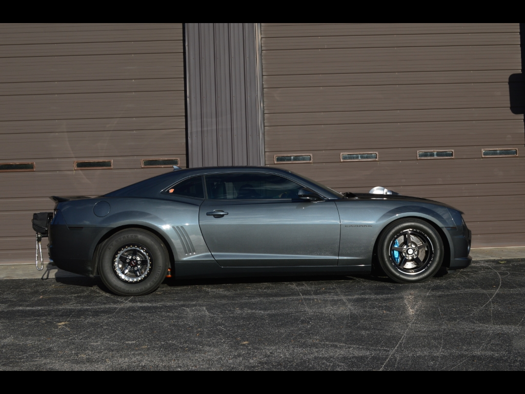 badass 2010 Chevrolet Camaro 427ci Twin Turbo 1500hp Drag Car