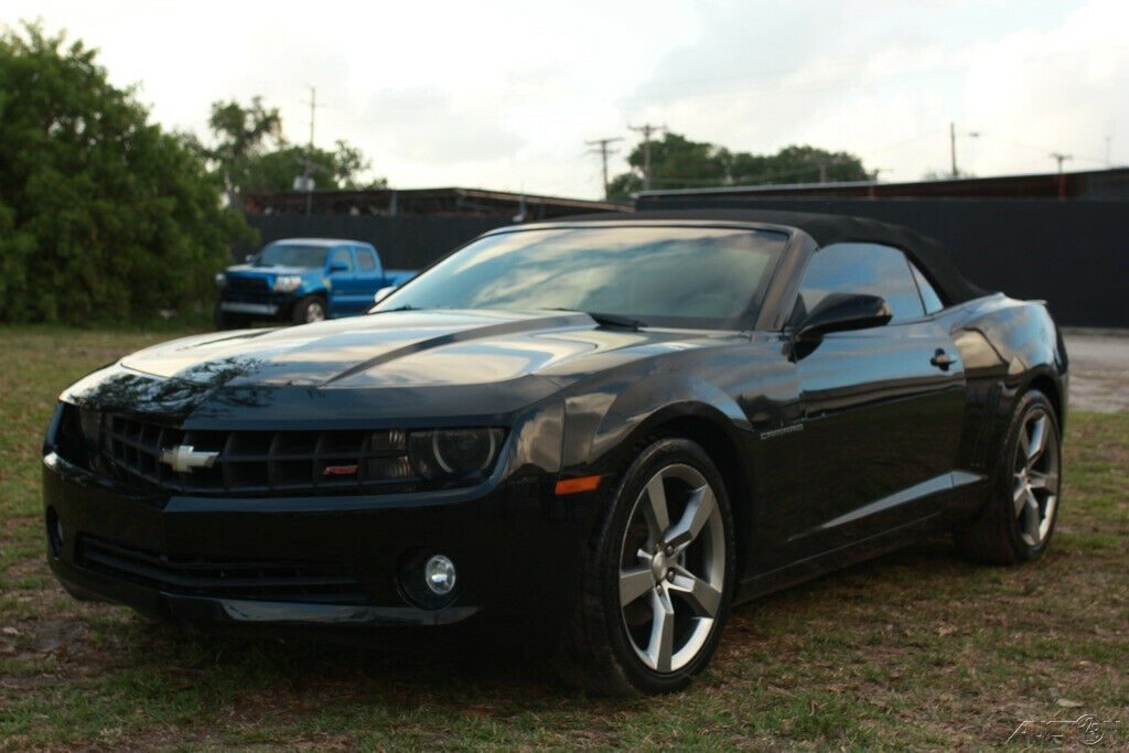 loaded 2012 Chevrolet Camaro LT Convertible