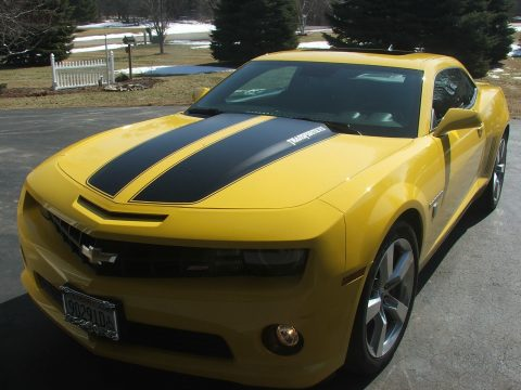 low miles 2010 Chevrolet Camaro SS Bumblebee Transformer Special Edition for sale