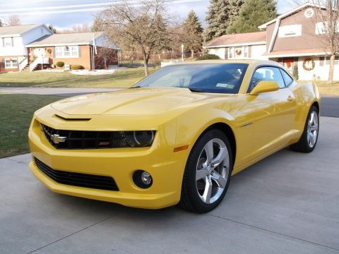very low miles 2011 Chevrolet Camaro SS for sale