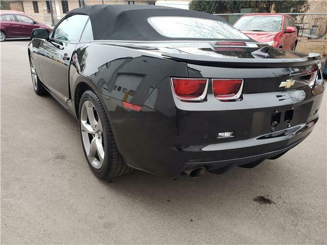 well equipped 2013 Chevrolet Camaro SS Convertible