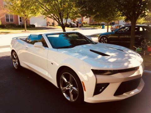 extra equipment 2017 Chevrolet Camaro SS convertible for sale