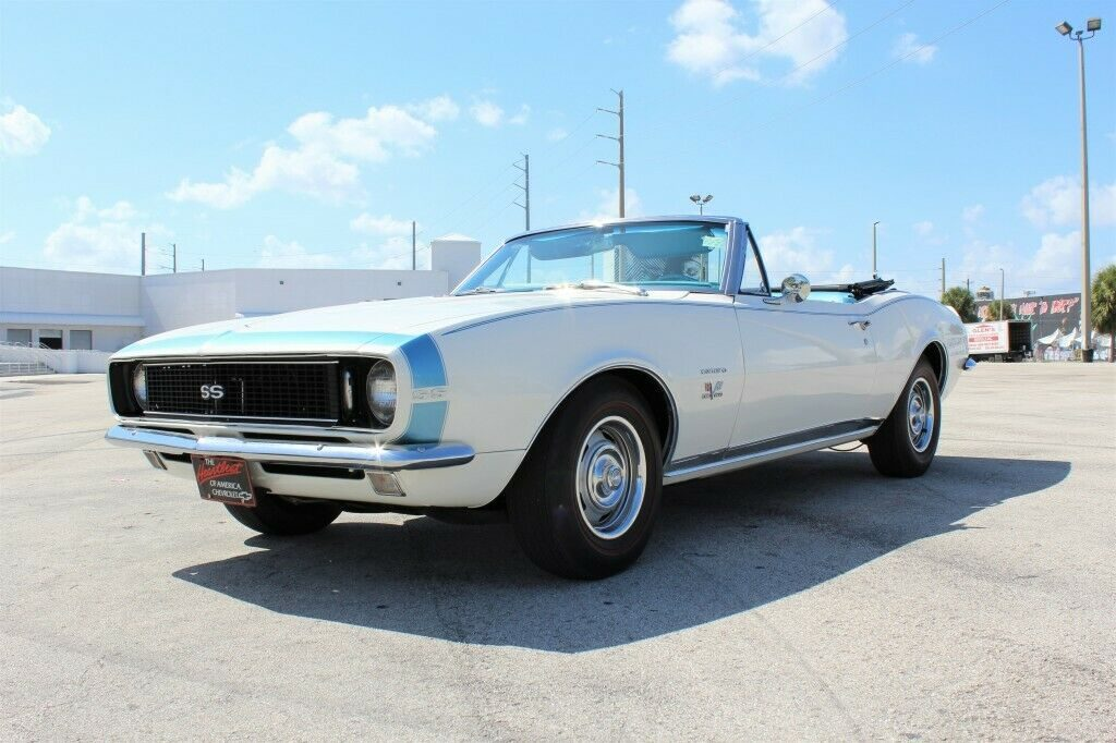 low miles 1967 Chevrolet Camaro RS/SS Convertible