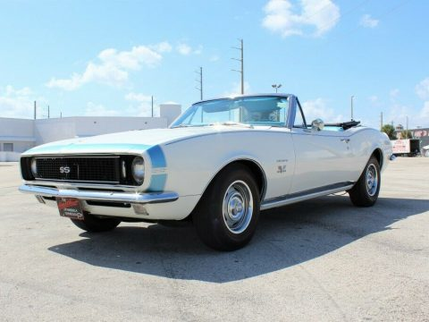 low miles 1967 Chevrolet Camaro RS/SS Convertible for sale