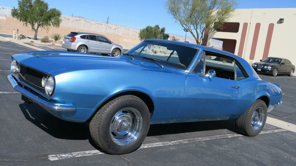 new paint 1967 Chevrolet Camaro