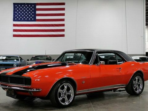 restored and modified 1967 Chevrolet Camaro for sale