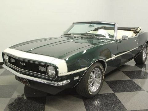 clean 1968 Chevrolet Camaro Convertible for sale