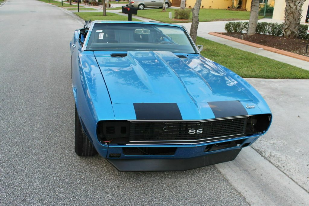 needs to be finished 1968 Chevrolet Camaro Convertible