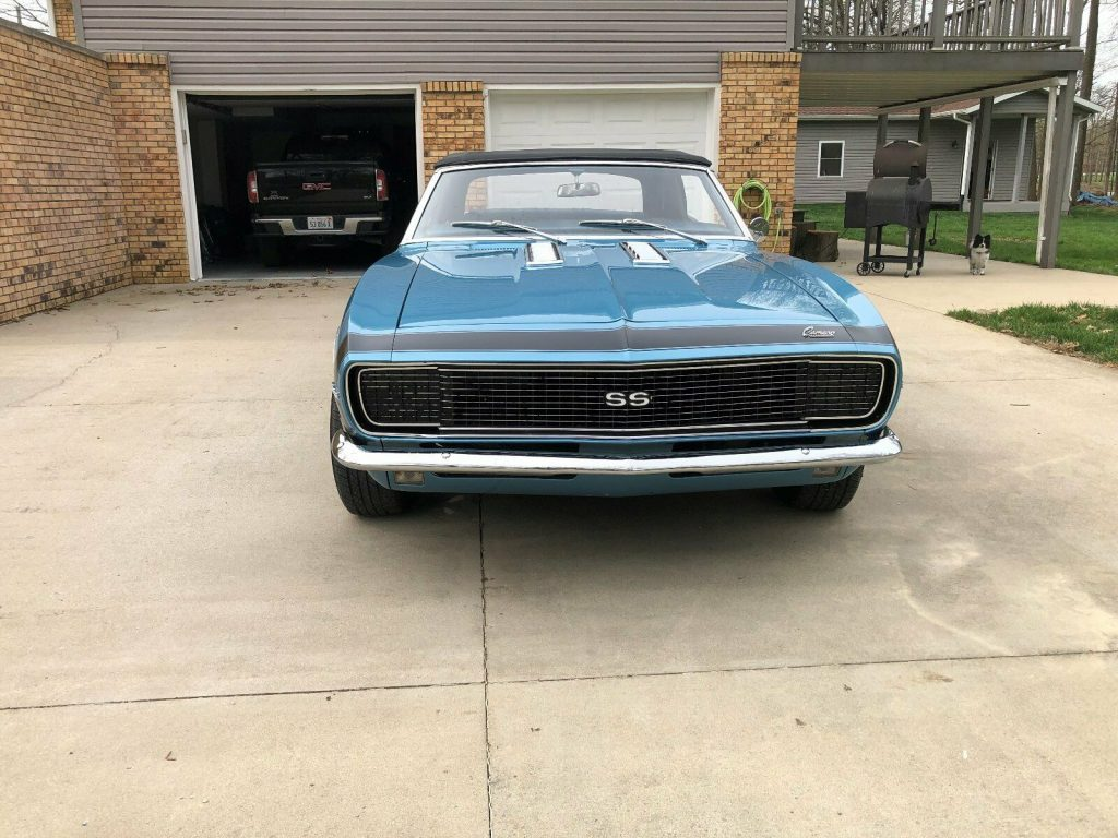 original 1968 Chevrolet Camaro Convertible