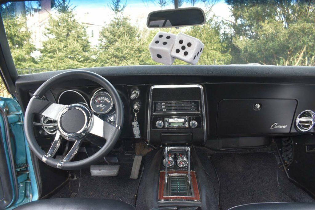 restored 1968 Chevrolet Camaro Custom