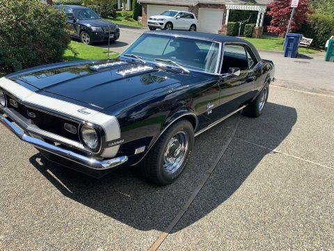 restored 1968 Chevrolet Camaro SS 396 4 speed for sale