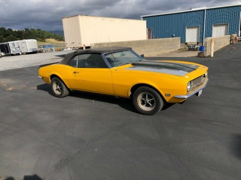 solid 1968 Chevrolet Camaro for sale