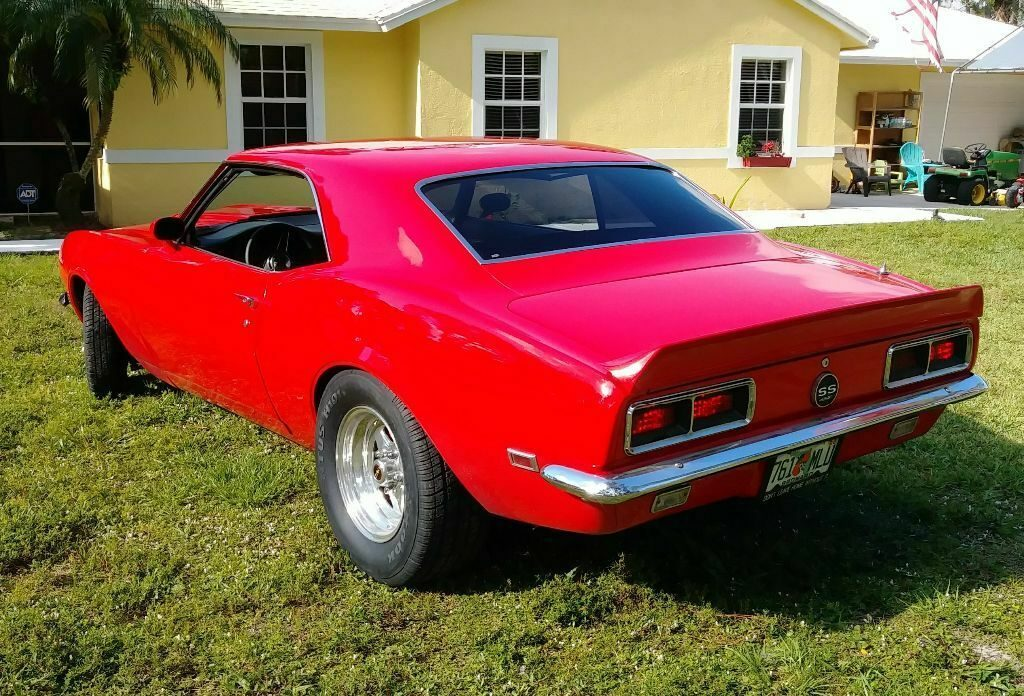 upgraded 1968 Chevrolet Camaro