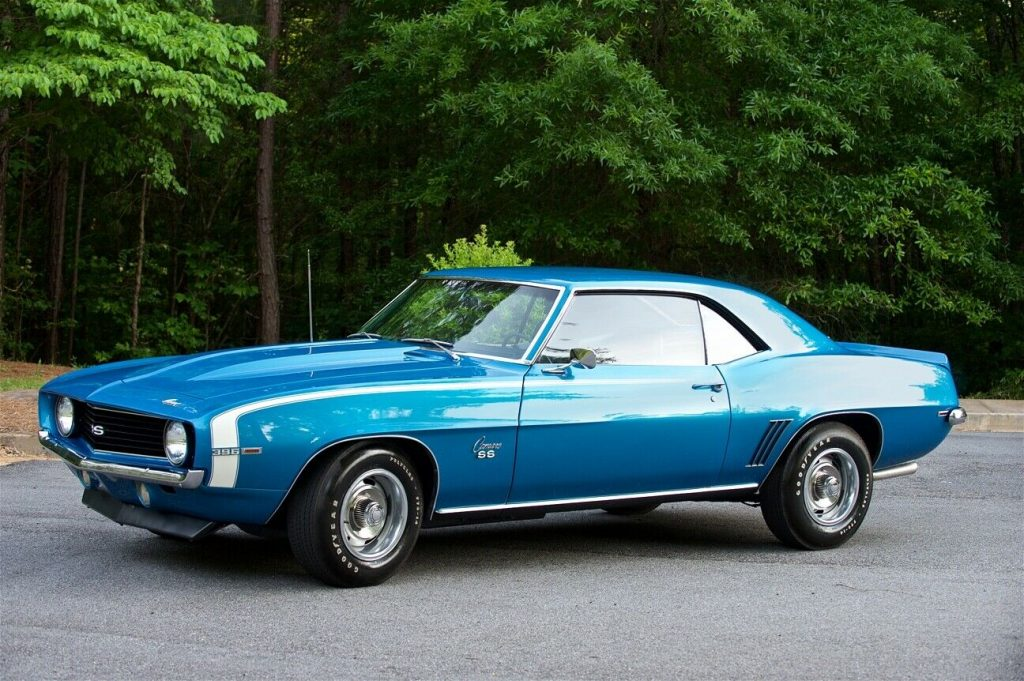 beautiful 1969 Chevrolet Camaro SS
