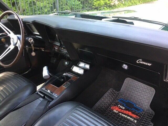 completely rebuilt 1969 Chevrolet Camaro Z28