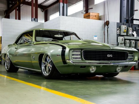 custom badass 1969 Chevrolet Camaro RS/SS for sale