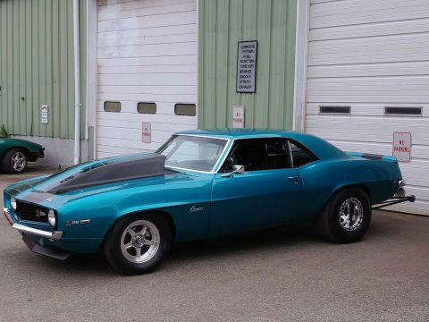 drag car 1969 Chevrolet Camaro Z28 for sale