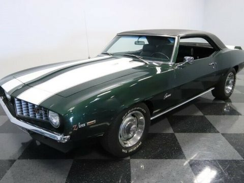 low miles 1969 Chevrolet Camaro Z/28 for sale